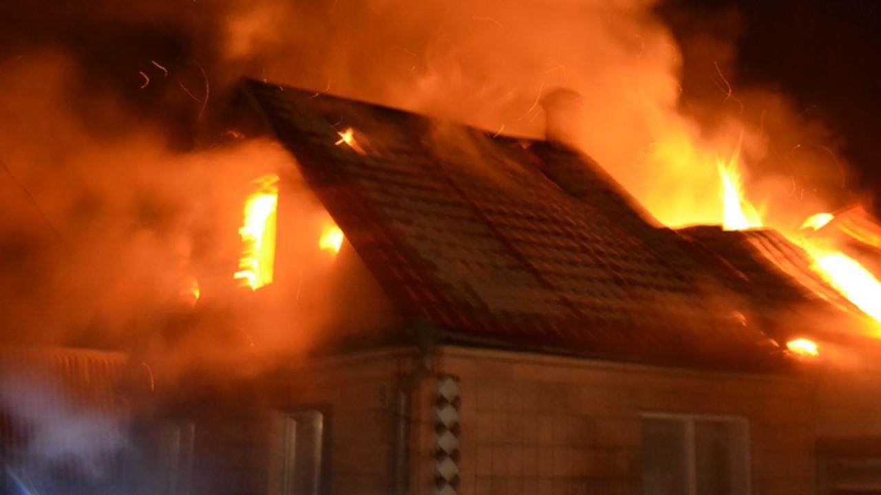 У Івано-Франківській області горіли дві господарські будівлі